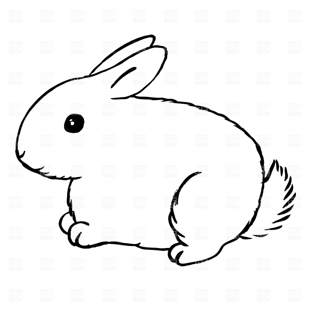 Bunny clipart #11, Download drawings