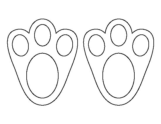 bunny feet svg #18, Download drawings