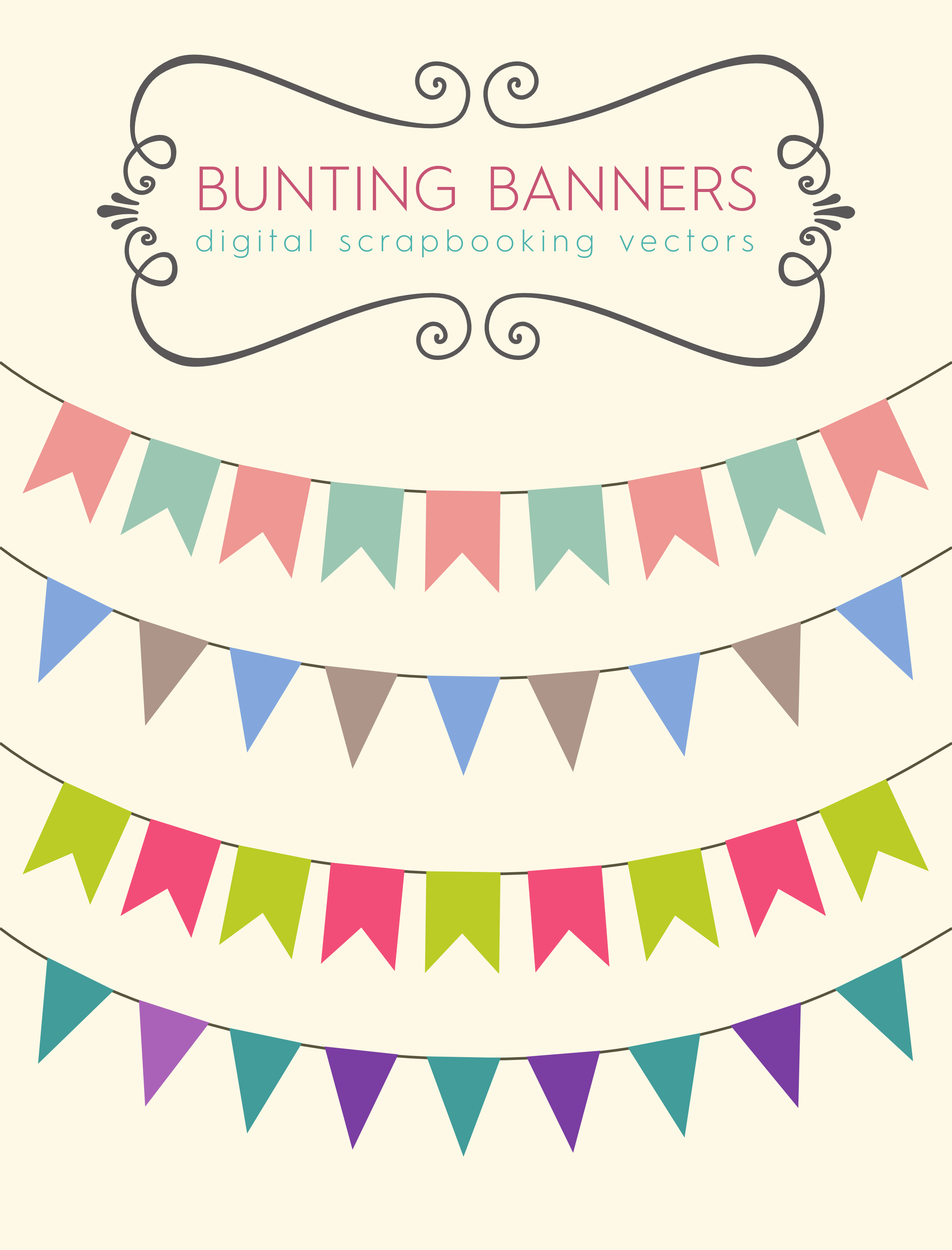 Bunting clipart #19, Download drawings