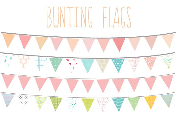 Bunting clipart #5, Download drawings