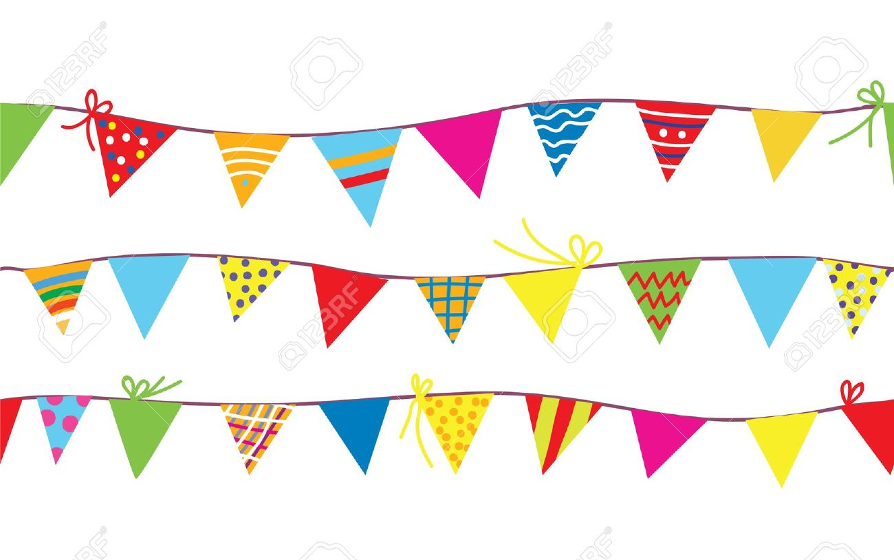 Bunting clipart #1, Download drawings