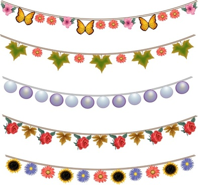 Bunting svg #14, Download drawings
