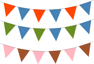 Bunting svg #12, Download drawings