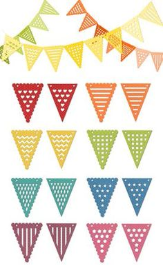 Bunting svg #19, Download drawings