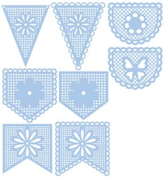Bunting svg #1, Download drawings