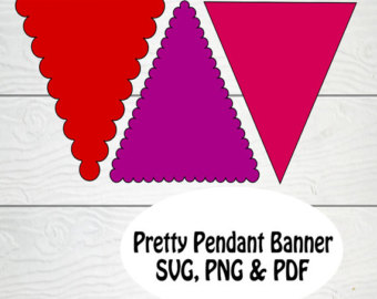 Bunting svg #3, Download drawings
