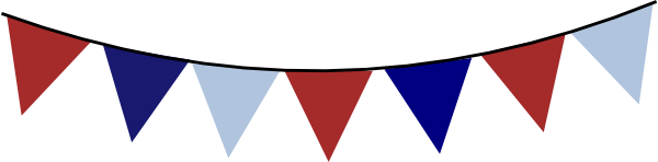 Bunting svg #17, Download drawings