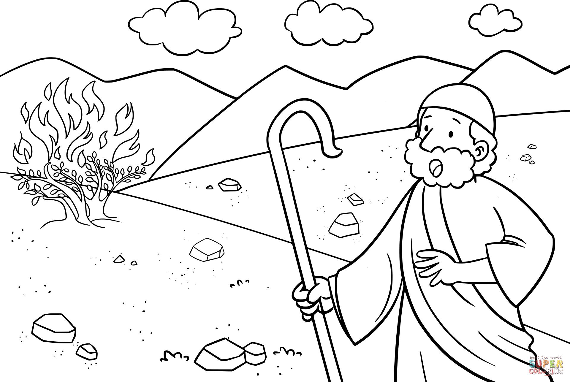 Bush coloring #7, Download drawings