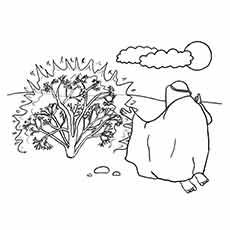 Bush coloring #3, Download drawings