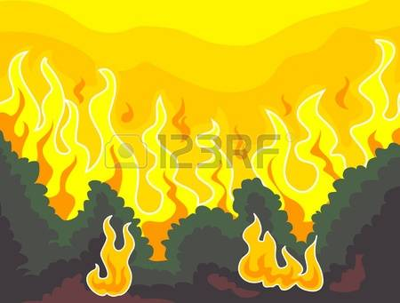 Bushfire clipart #12, Download drawings