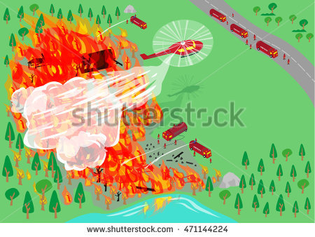 Bushfire clipart #11, Download drawings