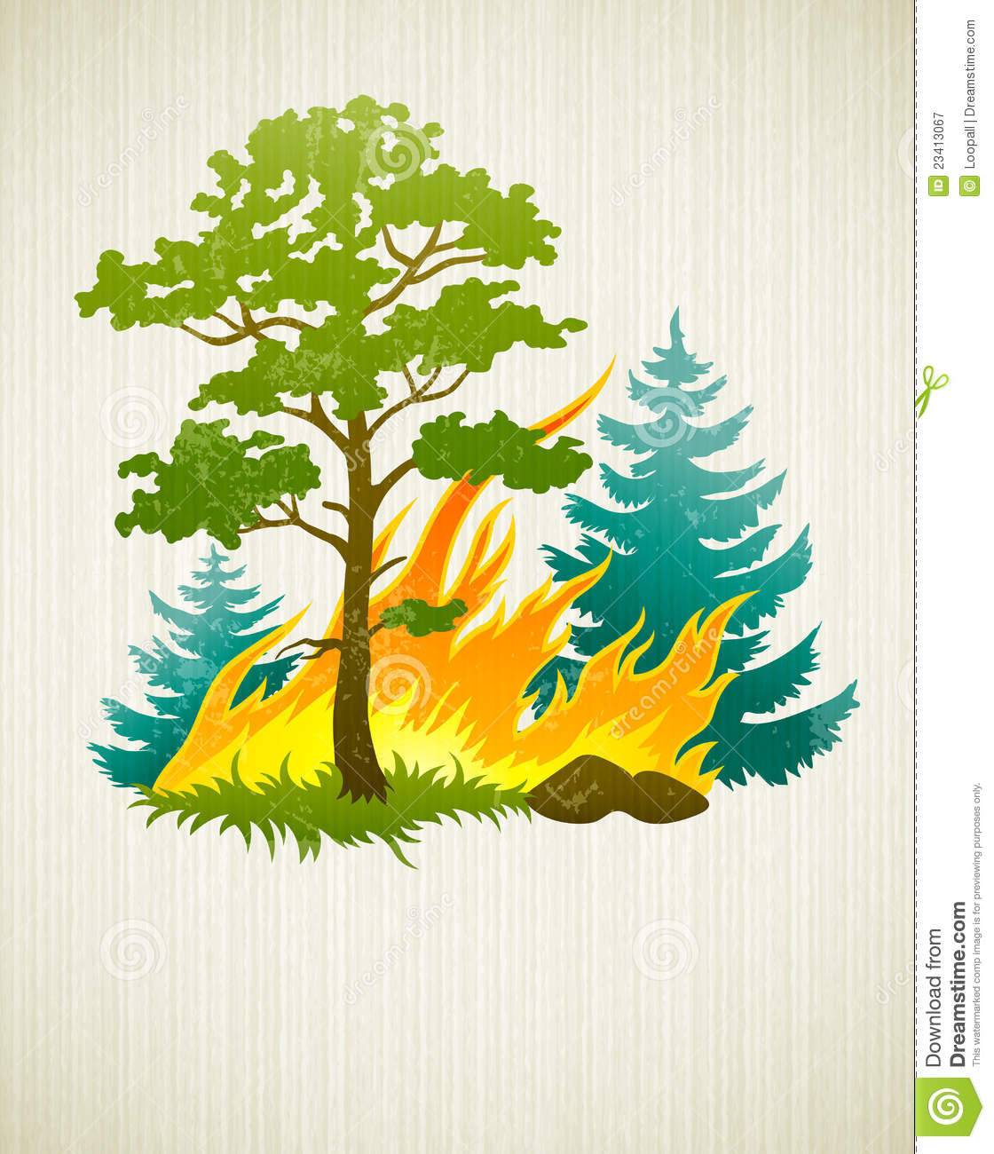 Bushfire clipart #8, Download drawings