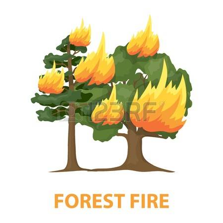 Bushfire clipart #7, Download drawings