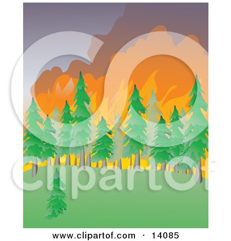 Bushfire clipart #6, Download drawings