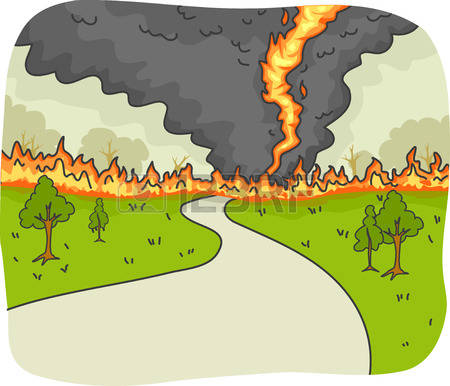 Bushfire clipart #5, Download drawings