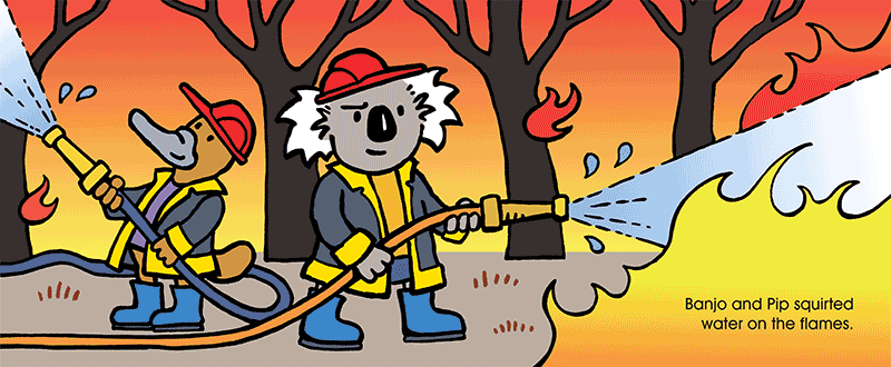Bushfire clipart #2, Download drawings