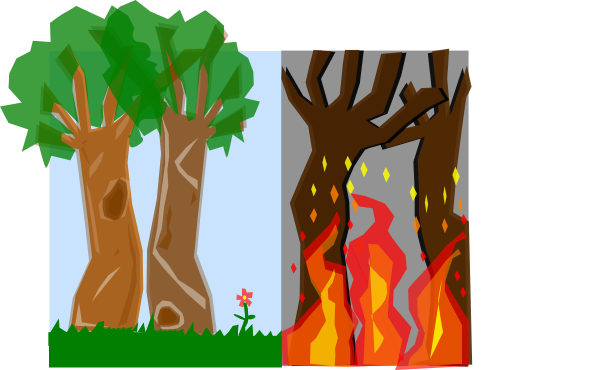 Bushfire clipart #19, Download drawings