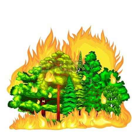 Bushfire clipart #17, Download drawings