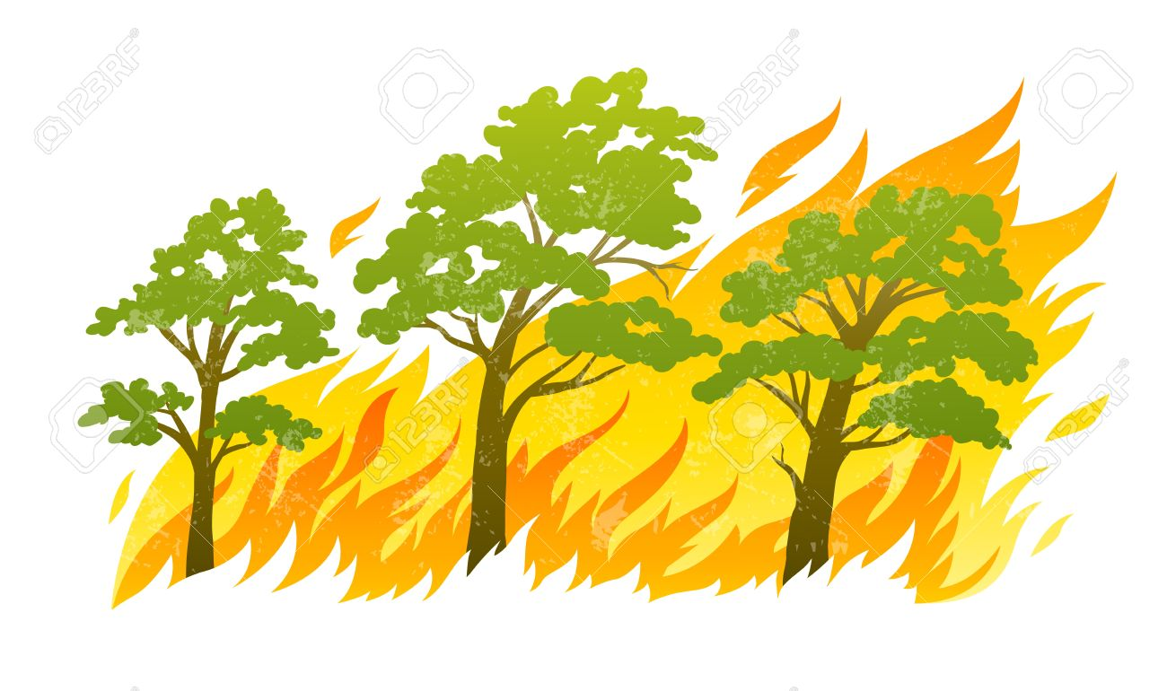 Bushfire clipart #14, Download drawings