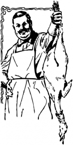 Butcherbird clipart #2, Download drawings