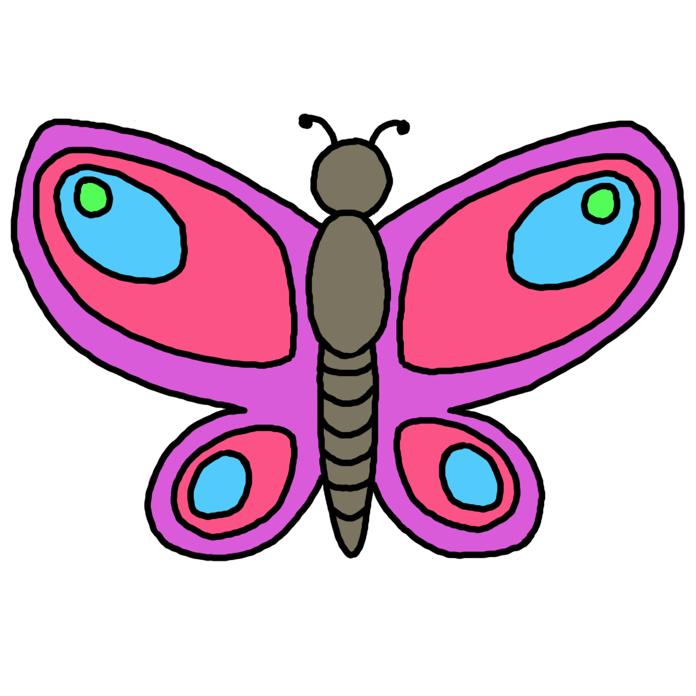 Butterfly clipart #13, Download drawings