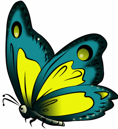 Butterfly clipart #18, Download drawings