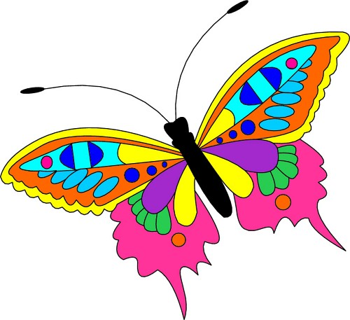 Butterfly clipart #6, Download drawings