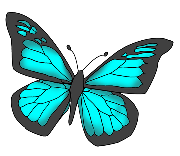 Butterfly clipart #1, Download drawings