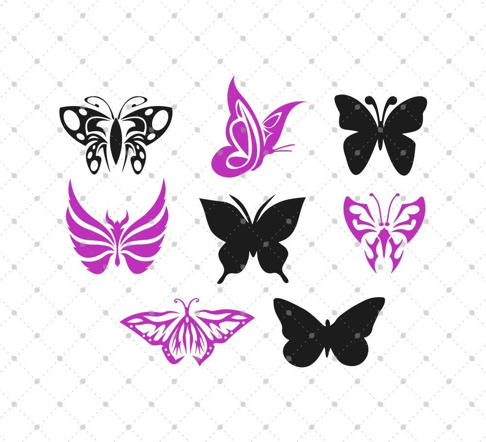 Butterfly svg #2, Download drawings