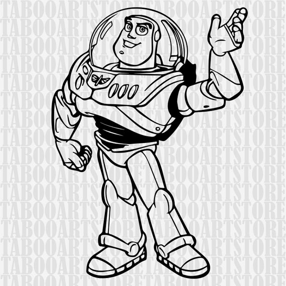 buzz lightyear svg #1099, Download drawings