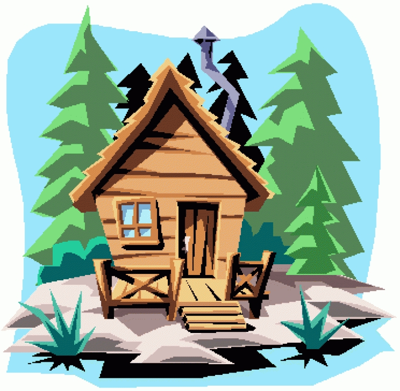 Cabin clipart #4, Download drawings