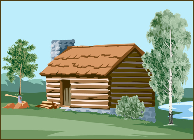 Cabin clipart #15, Download drawings