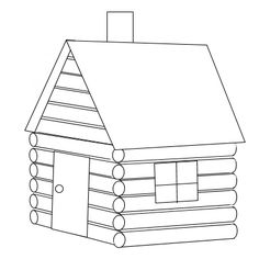 Cabin clipart #2, Download drawings