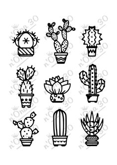 Cactus svg #7, Download drawings