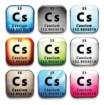 Caesium clipart #9, Download drawings