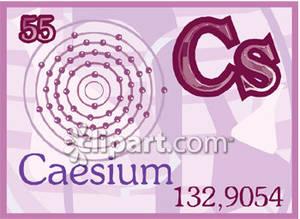 Caesium clipart #16, Download drawings