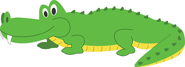 Caiman clipart #8, Download drawings