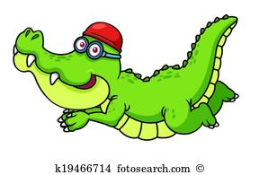Caiman clipart #9, Download drawings