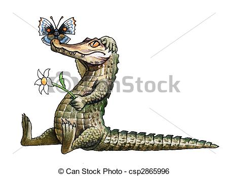 Caiman clipart #16, Download drawings