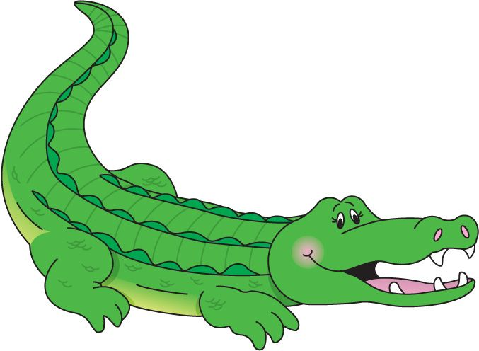Caiman clipart #15, Download drawings