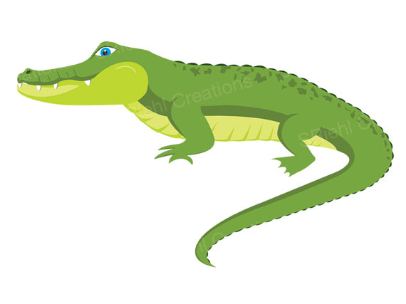 Caiman clipart #20, Download drawings