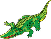 Caiman clipart #5, Download drawings