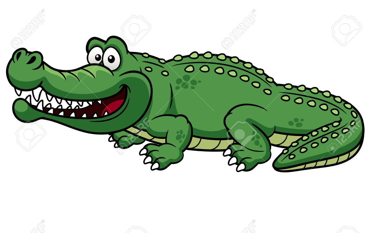 Caiman clipart #10, Download drawings