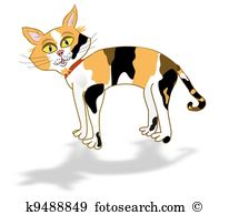 Calico Cat clipart #1, Download drawings