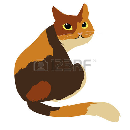 Calico Cat clipart #3, Download drawings