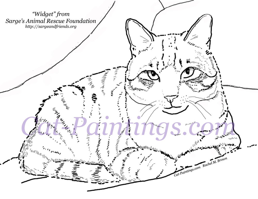 Calico Cat coloring, Download Calico Cat coloring for free ...