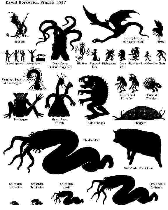 Lovecraft clipart #15, Download drawings