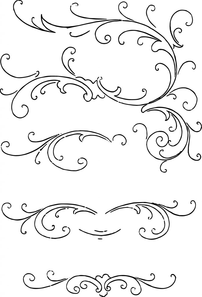 Calligraphy clipart #5, Download drawings