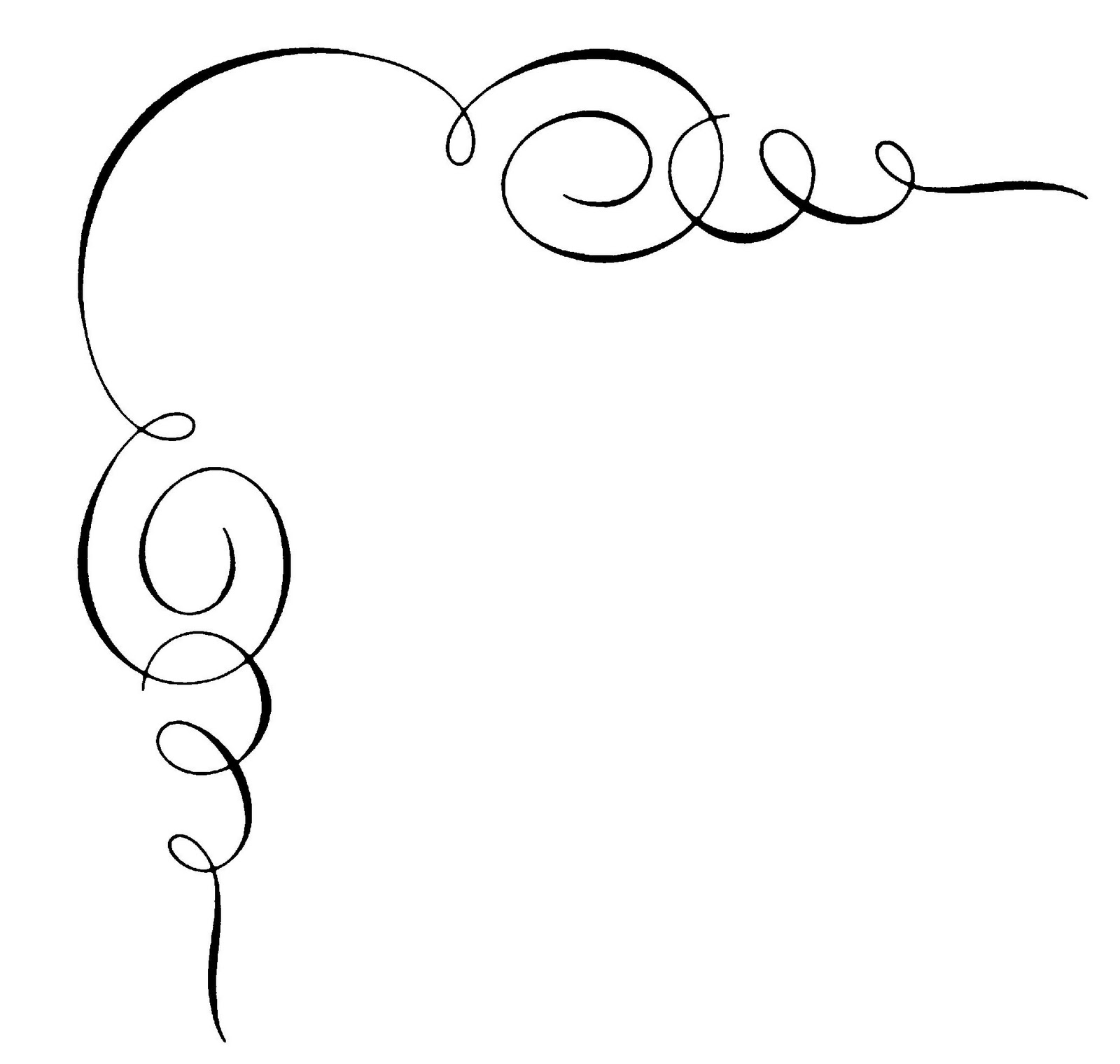 Calligraphy clipart #17, Download drawings