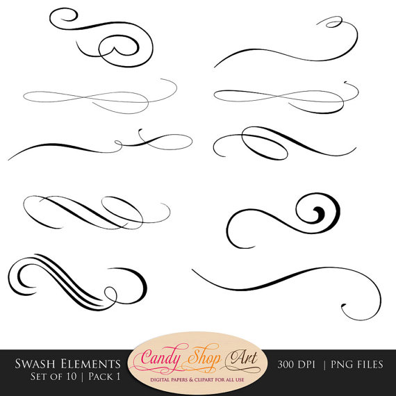Calligraphy clipart #16, Download drawings